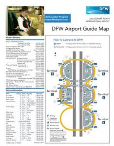 Dallas Airports Map by Dallas International Airport Terminal Map Pictures To Pin