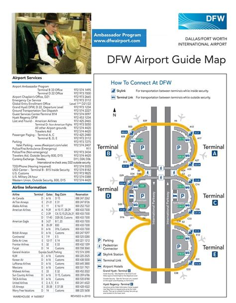 dallas airport map dallas fort worth international airport maplets