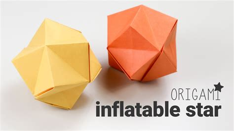 Origami Up - origami tutorial stellated octahedron