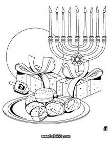 hanukkah color chanuka symbols coloring pages hellokids