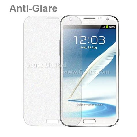 anti glare frosted screen protector guard for samsung