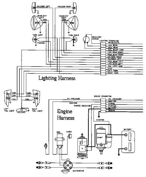 wiring diagram easy routing detail meyers plow wiring