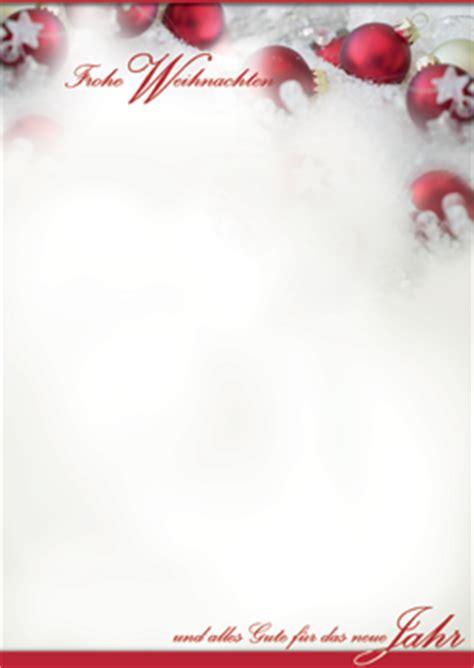 Kostenlose Vorlage Weihnachtsbriefpapier Weihnachtskarten Design F 252 R Firmen 2017
