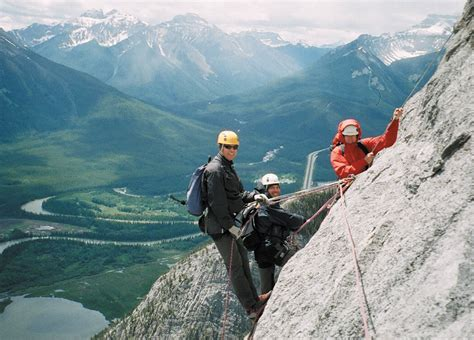 climb the canadian rockies with canadian rockies rock climbing rock climbing daily guided