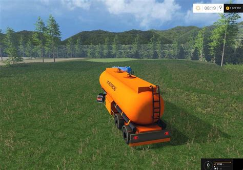 Kerosene Ls fuel trailer v 2 0 farming simulator 2017 mods farming
