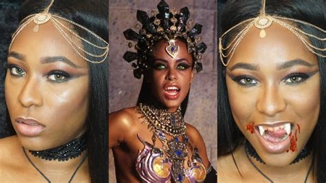 queen of the damned akasha makeup by lady death youtube aaliyah inspired akasha queen of the damned halloween