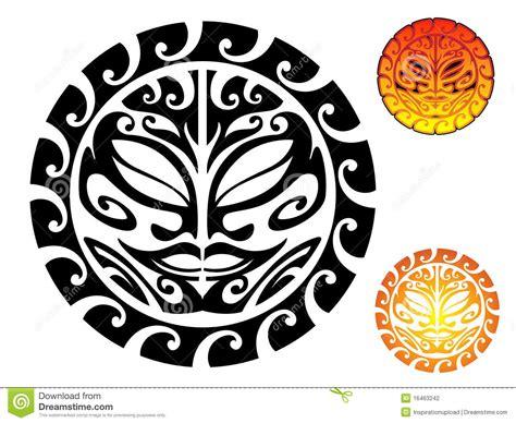 tribal sun stock photography image 16463242