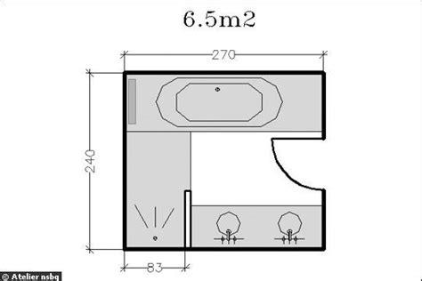 Salle De Bain 3m2 330 by Plan Salle De Bain 3m2 Cool Plan Pour Salle De Bain With