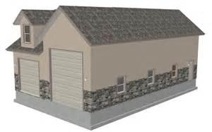 garage plan living quarters jd