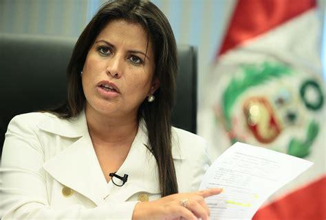 Cp Andina noticia ministra omonte de acuerdo con la uni 243 n civil