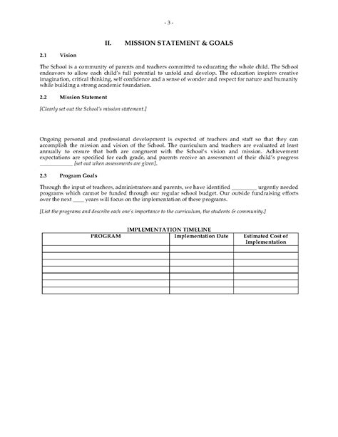 school business plan template charter school business plan forms and business