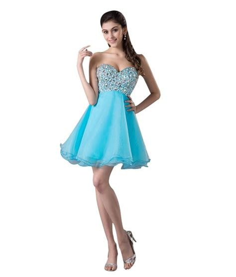 Short Light Blue Dress by Light Blue Short Prom Dresses