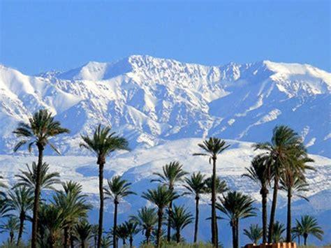morocco oukaimeden  heli skiing atlas