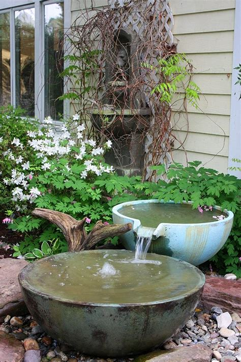 small backyard water feature ideas 3 ideas for small backyard water features premier ponds dc md va pond contractor