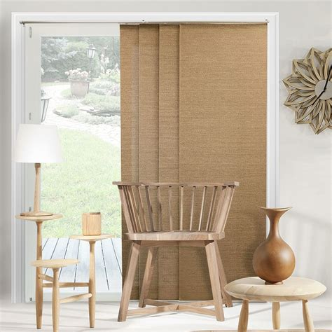 chicology adjustable sliding panel vertical blind ventanas cortinas de madera persianas