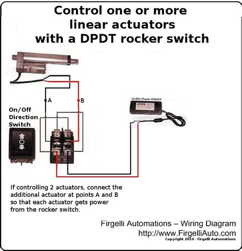 din wiring diagram linear actuator din get free