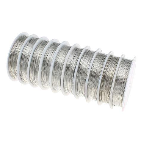 Muster Berichtigung Rechnung 6m Kupferdraht 0 6mm Silber Lackdraht Basteldraht Schmuckdraht Draht Neu C257 Ebay