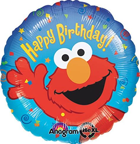 foil balloon intl anagram international elmo birthday foil balloon pack 18