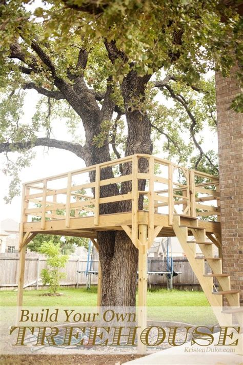 how to build a treehouse for your backyard diy tree house how to build a backyard fort woodworking projects plans