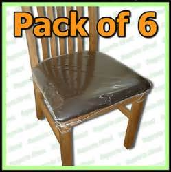 Plastic Chair Cushion Covers by Dining Chair Seat Covers Ebay