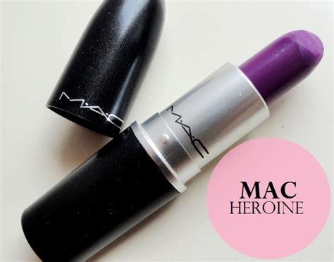 mac lipstick price mac heroine matte lipstick review swatches dupes price