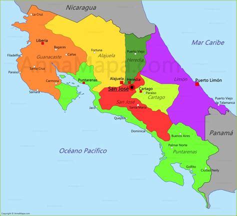 imagenes satelitales costa rica mapa de costa rica annamapa com