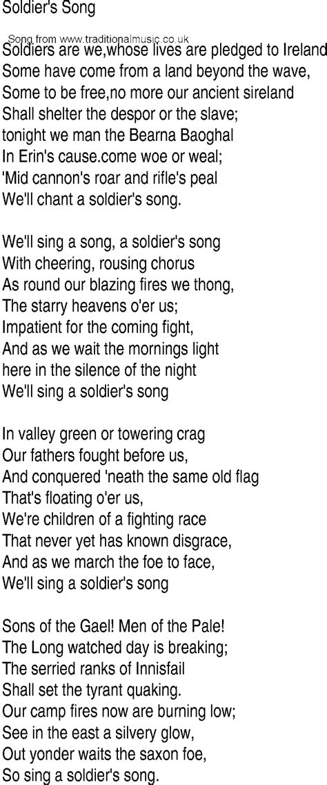 soldier song song lyrics related keywords song lyrics keywords keywordsking