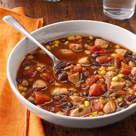 chicken and black bean soup recipe taste of home