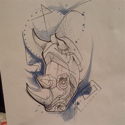 geometric tattoo rhino 25 best rhino ness images on pinterest rhinoceros