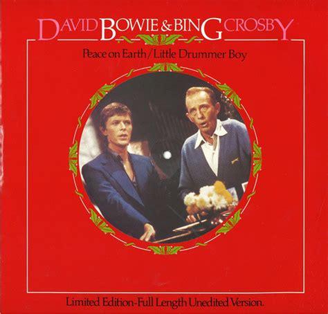 david crosby bing crosby david bowie bing crosby peace on earth little
