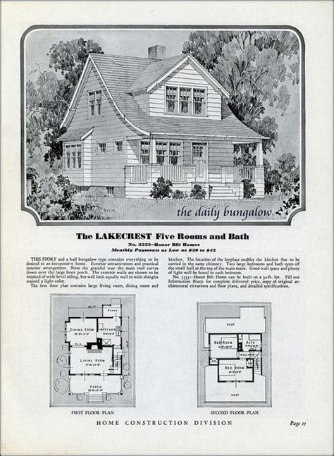 sears kit homes floor plans homes of today sears kit houses 1932 vintage house
