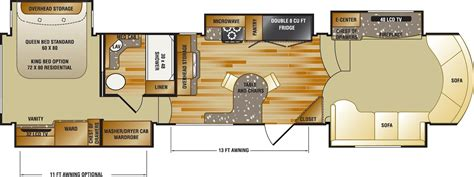 fifth wheel trailer floor plans gr8lakescer detroit fall cer rv show opens