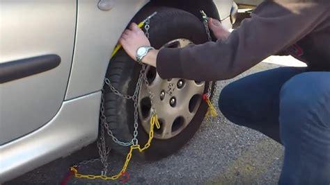 poner cadenas nieve youtube como poner las cadenas de nieve al coche y no morir en el