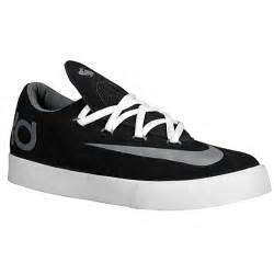 Nike kd vulc boys grade school basketball shoes black cool