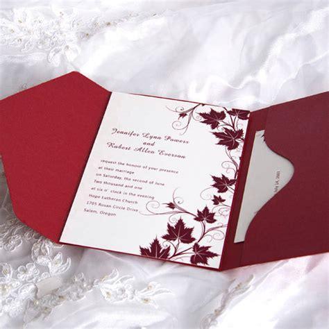 fancy winery pocket wedding invitation ewpi007 as low as 1 69
