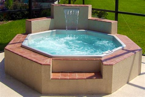 How To Build A Pool House semi inground pool decks houses models great ways to