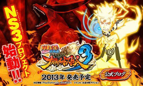 film naruto ultimate ninja storm 3 le jeu de combat naruto shippuden ultimate ninja storm