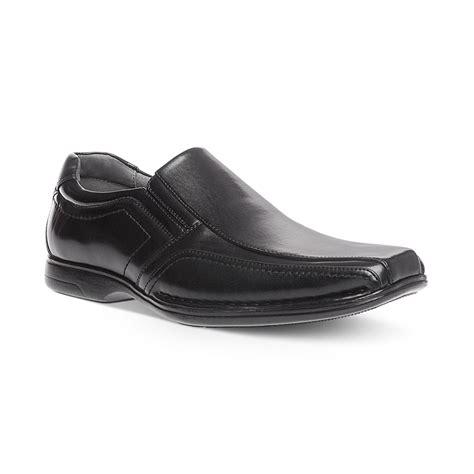 steve madden madden nelson slip on shoes in black for