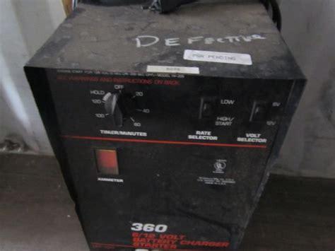 solar 360 6 12v battery charger booster