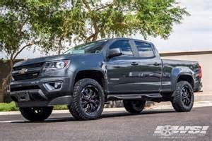 chevrolet colorado custom wheels koko solid road