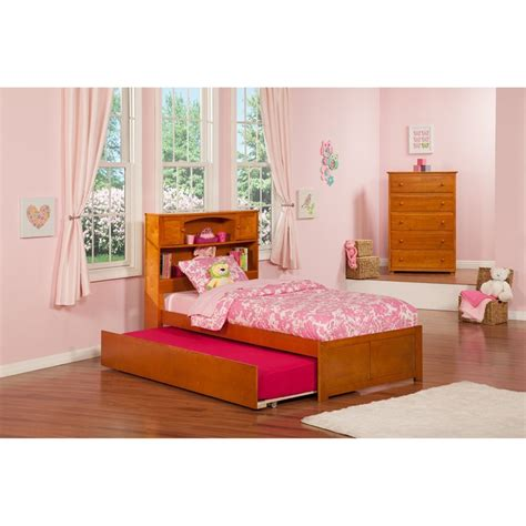 trundle bed with bookcase headboard newport flat panel foot board trundle bed platform
