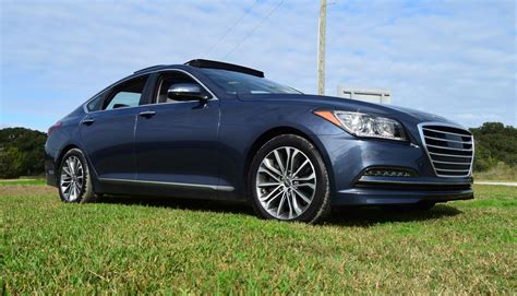hyundai genesis hd road test review 2016 hyundai genesis v6 rwd