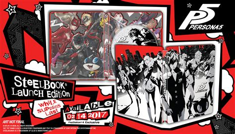Best Seller Persona 5 Steelbook Launch Edition Ready Stock Check Out Persona 5 S Sizzle Reel Trailer Gamer