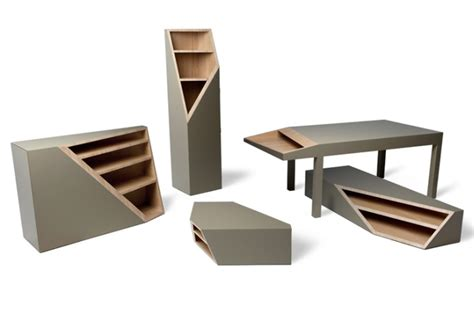 smooth plane cutline furniture by alessandro busana