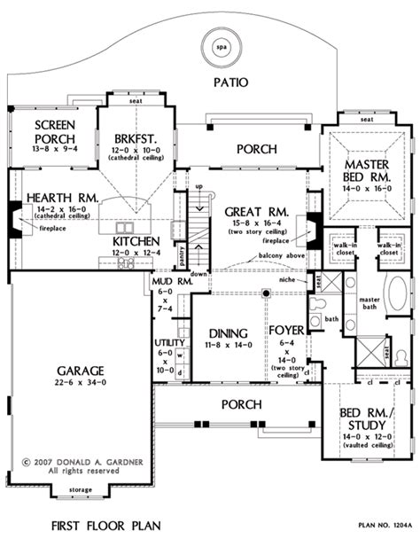 donald gardner floor plans house plan the rochelle by donald a gardner architects