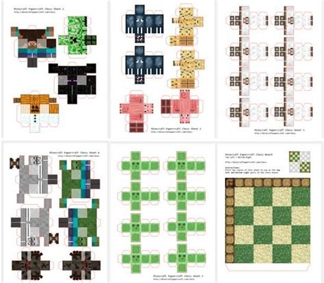 Minecraft Papercraft Tutorial - 17 best images about a minecraft on paper