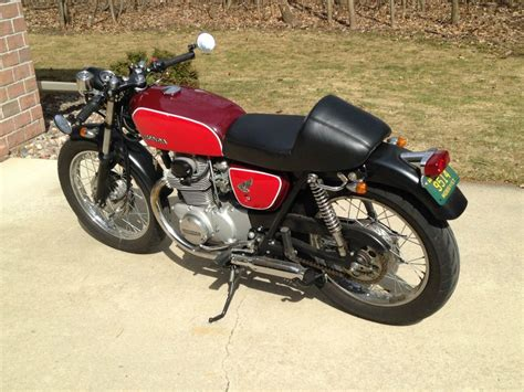 1971 honda cb 350 cafe racer for sale