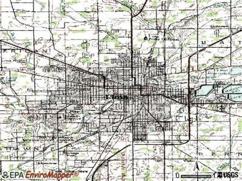 lima ohio map illinois map