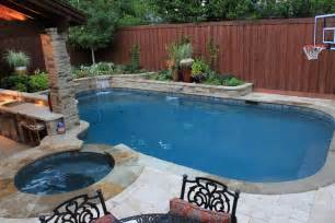 Small Backyard Ideas With Pool Backyard Pool Design With Mesmerizing Effect For Your Home