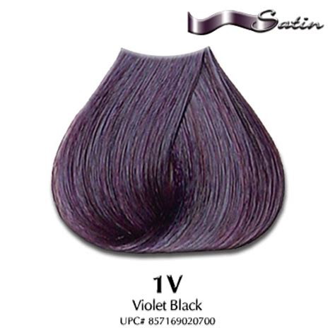 black violet hair color satin hair color 1v violet black hair coloring satin